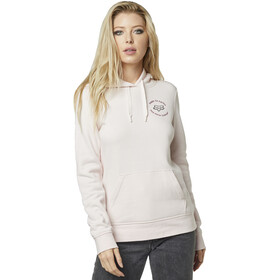 Fox Flutter Fleece Pullover Women, light pink